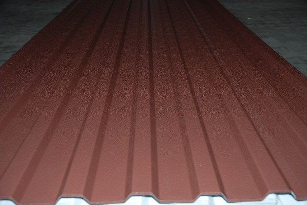 20 / 125 0,50 mm stucco A: RAL 8016 / RSL